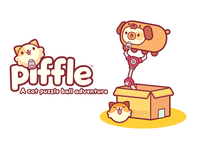 Available now: piffle – a cat puzzle ball adventure (Hipster Whale)