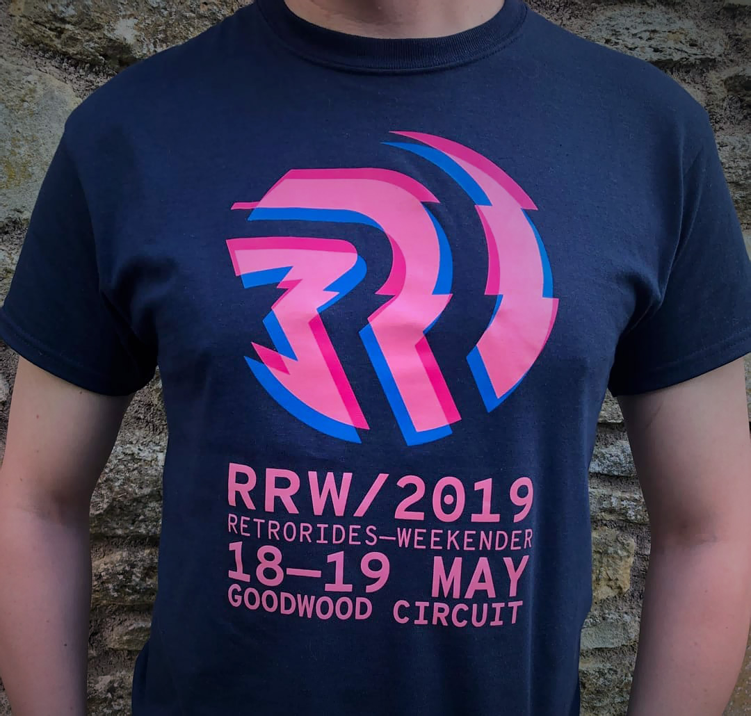 Vyxl T-Shirt Design for Retro Rides Weekender 2019