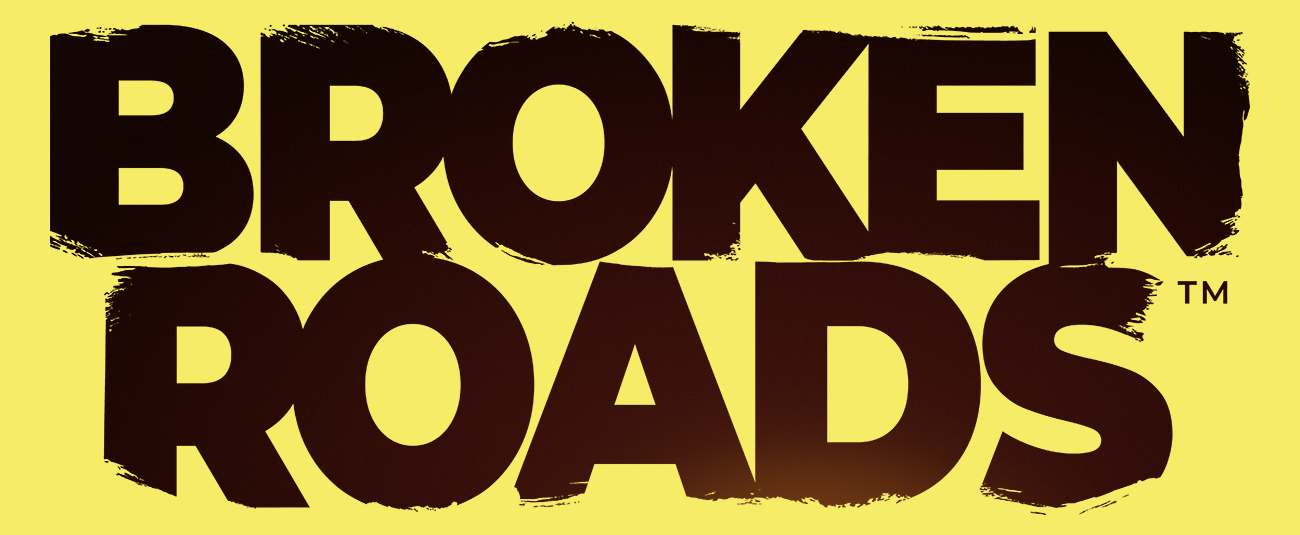 Vyxl Branding for upcoming post-apocalyptic RPG Game 'Broken Roads'